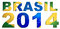 Stock Image : Brasil 2014 Logo Design