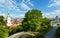 Stock Image : Bratislava City spring view (Slovakia)