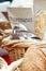 Stock Image : Bread Baskets
