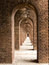 Stock Image : Brick Arches at Fort Jefferson