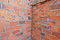 Stock Image : Brick wall in residential building construction