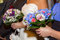 Stock Image : Bridal bouquets