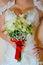 Stock Image : Bride flowers