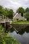 Stock Image : Bridge Cottage Flatford