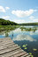 Stock Image : Bridge over a lake