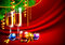 Stock Image : Bright christmas background