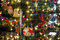 Stock Image : Bright Christmas Tree Close-up