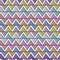 Stock Image : Bright zigzag