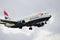 Stock Image : British Airways Boeing 737