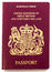 Stock Image : British Passport