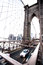Stock Image : Brooklyn Bridge. Vertical shot