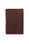 Stock Image : Brown book on a white background