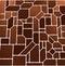 Stock Image : Brown mosaic