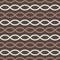 Stock Image : Brown retro seamless pattern