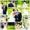 Stock Image :  Bruid en bruidegom