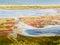 Stock Image : Budaki Lagoon, Shabolat. So-called «Ukrainian Mesopotamia».