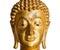 Stock Image : Buddha statue isolated on white background