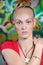 Stock Image : Buddhist girl