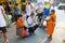 Stock Image : Buddhist monk