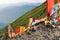 Stock Image : Buddhist mountain