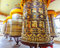 Stock Image : Buddhist prayer wheels