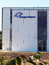 Stock Image : Budynek znoszący loga Sarafovo Lotnisko
