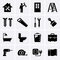 Stock Image : Building, construction and tools icons