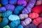 Stock Image : Bundles of Yarn