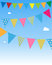 Stock Image : Bunting flags
