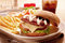 Stock Image : Burger set