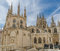 Stock Image : Burgos cathedral rear