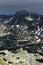 Stock Image :  Burzowy krajobraz w parku narodowym Retezat