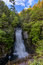 Stock Image : Bushkill waterfall a