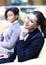Stock Image : Businesswomen Sitting In Modern Office