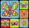 Stock Image : Butterfly icon set.