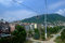 Stock Image : Cable car and pole in the city of Ordu