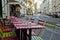 Stock Image : Cafés in Montmartre