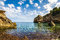 Stock Image : Cala Deia beach