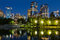 Stock Image : Calgary Downtown at Night