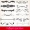 Stock Image : Calligraphic design elements