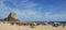 Stock Image : Calpe Beach and the Penon de Ifach