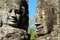 Stock Image : Smile face on Bayon temple