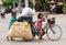 Stock Image : Cambodian children at work