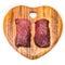 Stock Image : Camel meat steaks
