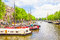 Stock Image : Canal in Amsterdam