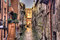 Stock Image : Canal  Bologna - HDR