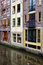 Stock Image : Canal Buildings in Amsterdam