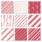 Stock Image : Candy Cane Patterns