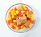 Stock Image : Candy Corn and Caramels