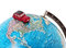 Stock Image : Car on a globe